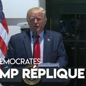 «Si vous n'êtes pas heureuses ici, vous pouvez partir» répond Trump à quatre élues démocrates