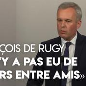François de Rugy : « Il n'y a pas eu de diners entre amis financés par l'Assemblée nationale »