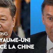 Hongkong : le Royaume-Uni menace la Chine en cas de non respect des libertés
