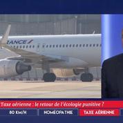 Taxe aérienne: le retour de l'écologie punitive ?