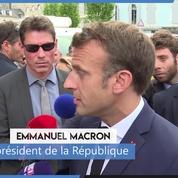 Steve : «Il faut que la clarté soit faite», déclare Emmanuel Macron