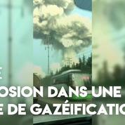 Chine : une usine de gazéification explose, des vitres brisées dans un rayon de 3 kilomètres