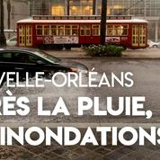 États-Unis : la Nouvelle-Orléans les pieds dans l'eau après des pluies torrentielles