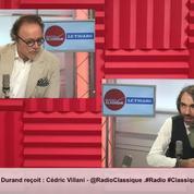 Candidature à la mairie de Paris : «J'y crois absolument», assure Cédric Villani