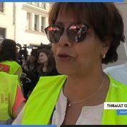 Femmes de chambre : manifestation près du ministère de Marlène Schiappa