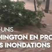 États-Unis : inondations, pluies diluviennes impactent Washington