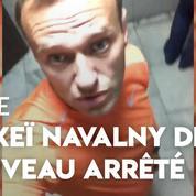 Russie : Alexeï Navalny, opposant à Poutine, annonce avoir été de nouveau arrêté