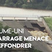 Royaume-Uni : un barrage menace de s'effondrer, 1.500 personnes évacuées