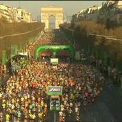 Patrick Montel et Bernard Faure taclent un marathonien sur France 3