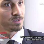 Ibrahimovic : «Les records c'est pour les journalistes»