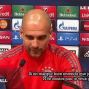 Pep Guardiola : «Messi est inarrêtable en ce moment»