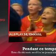 Zap'Sport : Ibrahimovic rend fous les jeunes suédois