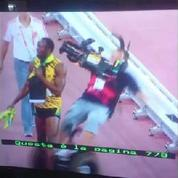 Usain Bolt renversé par un segway après son titre mondial