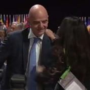 L'Italien Gianni Infantino élu président de la Fifa