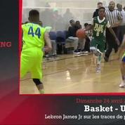 Zap'Sport : Lebron James Junior sur les traces de son père