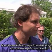 Nadal : «J'ai déjà oublié le tournoi de l'année dernière»