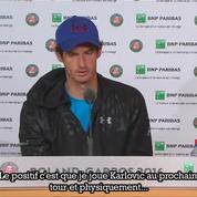 Andy Murray : «Ce serait bien de passer le prochain tour plus rapidement»