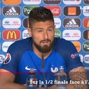 Giroud : «Peut-être mon meilleur match dans une compétition internationale»