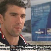 Phelps : «Petit je détestais l'eau»