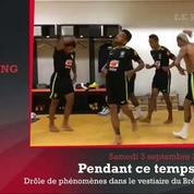 Zap'Sport : Phénomène très étrange dans le vestiaire du Brésil