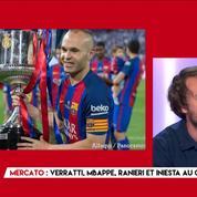 Verratti, Mbappé, Valbuena, Iniesta : Le point mercato de 45'Chrono