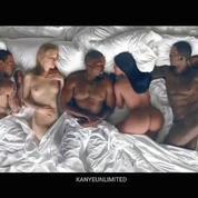 Rihanna, Kim Kardashian, Taylor Swift, nus le dernier clip de Kanye West