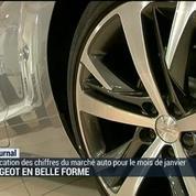 Immatriculations: Peugeot grand gagnant de janvier