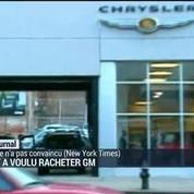 Fiat a voulu racheter General Motors