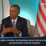 Obama promet de «redoubler d'effort» contre l'EI