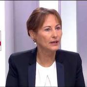 Ségolène Royal annonce la mise en place de portiques dans une gare TGV