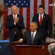 Obama prononce un dernier discours optimiste devant le Congrès