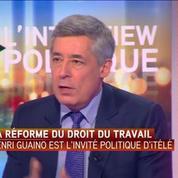 Henri Guaino: «Vive Léon Blum et vive le Front Populaire pour ce qui est de la limitation du temps de travail»