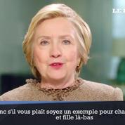 Hillary Clinton :