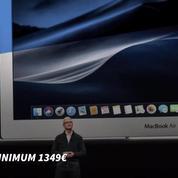 Apple présente un nouveau MacBook Air plus cher et un iPad Pro