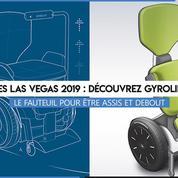 CES 2019 : découvrez Gyrolift, le fauteuil roulant en position assise et debout