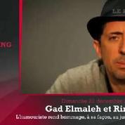 Zap'Sport: Gad Elmaleh chambre Riner, altercation entre Ibra et Mavuba