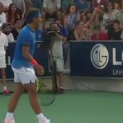 Rafael Nadal arrête son match car une maman a perdu sa fillette