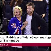 Margot Robbie a officialisé son mariage