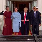 Investiture : le couple Obama accueille les Trump à la Maison Blanche