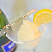 Sorbet au champagne