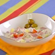 Soupe glacée à l'espagnole