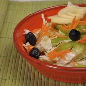 Salade au chou vert