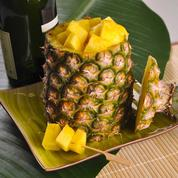 Ananas surprise au champagne