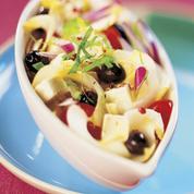 Salade d'endives, tomates et feta