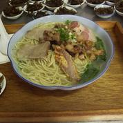 Soupe de nouille chinoise au porc