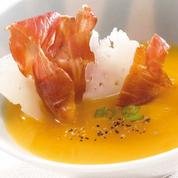 Crème de potiron au jambon Consorcio Serrano