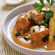 Curry rouge de lapin façon thaï