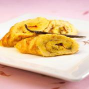Omelette à la vanille et au safran