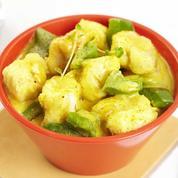 Lotte au curry