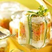 Couscous en terrine et ses petits légumes